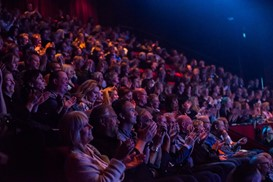 Enthusiastic audience at TEDxArendal